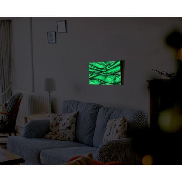"""Светящаяся картина """"Абстракция"""" формата А3"""