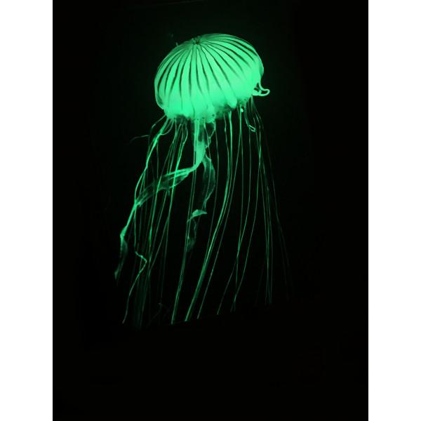"""Светящаяся картина """"Медуза"""" формата А3"""