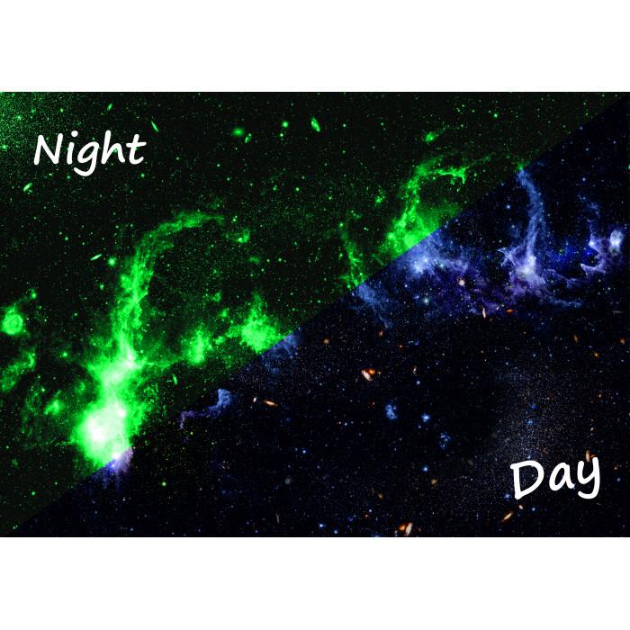 Светящаяся картина Млечный Путь «Люми Зуми» формата А3