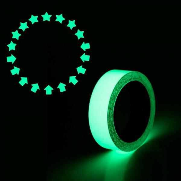 Фотолюминесцентная лента с комплектом наклеек, 3м